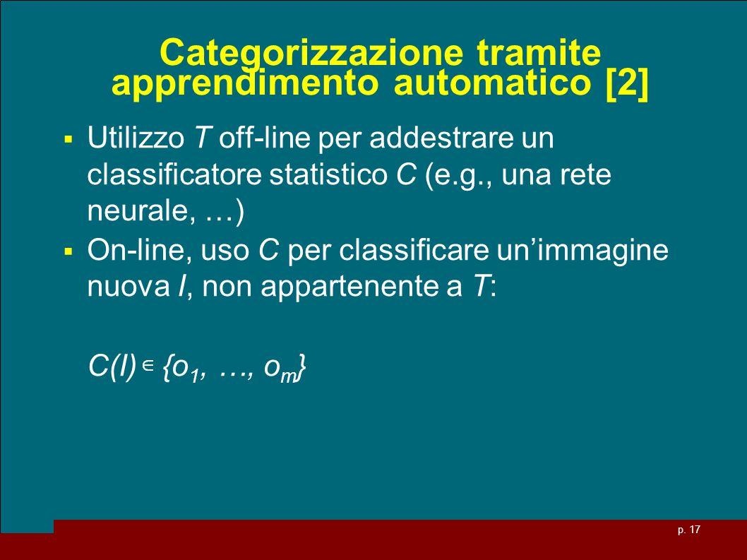 Categorizzazione tramite apprendimento automatico [2]